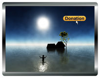 Online Donations Stock Image