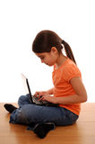 online dziecko ochrona zdjęcia stock