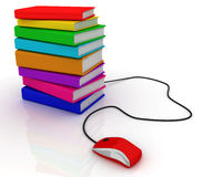 Online education. This is a 3D rendered picture Stock Images
