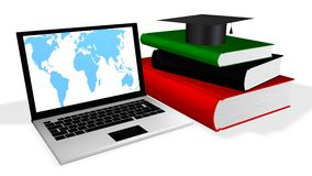 Online Education. Concept  in 3D Stock Photos