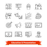 Online education and Academic presentation Stock Photos