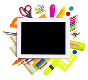 Online education concept. Royalty Free Stock Photo