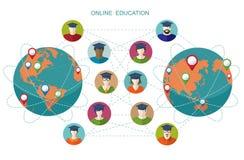 Online education. Stock Photo