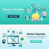 Online Education Design Concept Royalty Free Stock Photo