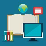Online education elearning Stock Photo