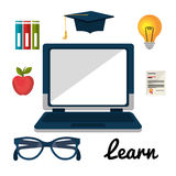 Online education elearning Royalty Free Stock Photography