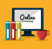 Online education elearning Royalty Free Stock Photo