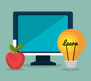 Online education elearning Stock Photography