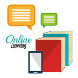 Online education elearning Stock Images