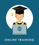 Online education and eLearning Royalty Free Stock Photos