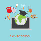 Online education Stock Image