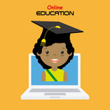 Online education Royalty Free Stock Images