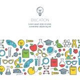 Online education, graduation, school and university concept. Royalty Free Stock Photo
