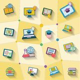 Online education icon Royalty Free Stock Image