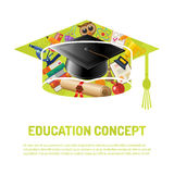 Online Education Poster Stock Images