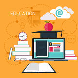 Online education, professional education Stock Images