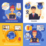 Online Education Training Design Concept Royalty Free Stock Photo