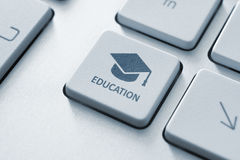Online edukacja Obrazy Stock