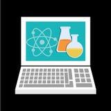 Online edukacja projekt Zdjęcie Stock