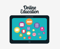Online edukacja projekt Fotografia Royalty Free