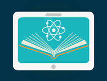 Online edukacja projekt Obraz Stock