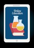Online edukacja projekt Zdjęcia Stock