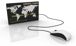 Online Elektronische handel Stock Fotografie