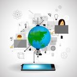 Online erlernend Lizenzfreie Stockbilder