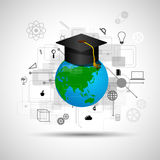 Online erlernend Stockfotos