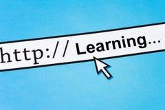 Online erlernend Stockbilder