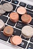 Online Financieel Bankwezen stock afbeeldingen