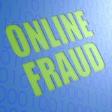Online fraud Royalty Free Stock Photos