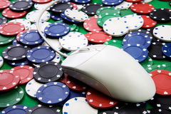 Online Gambling Stock Photos