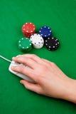 Online Gambling Royalty Free Stock Image