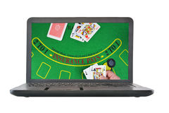 Online gambling Stock Images