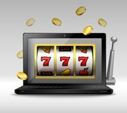 Online gambling concept Stock Image