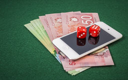 Online gambling Royalty Free Stock Photography