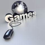 Online Games Royalty Free Stock Image