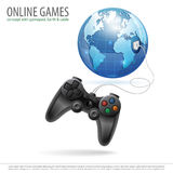 Online Games Stock Image