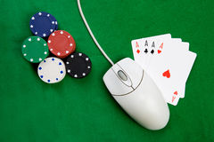 Online Gaming Royalty Free Stock Photo