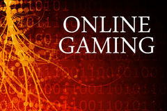 Online Gaming stock illustration