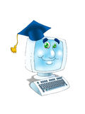 Online graduation certificate Stock Photos