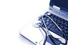 Online-hälsa Arkivbilder