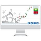 Online handel Stock Foto's