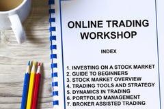 Online-handel Arkivbild