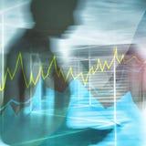 Online handel, pojęcie, rynków walutowych, inwestyci i rynku finansowego, obraz royalty free