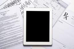 Online health benefits claim form Stock Photos