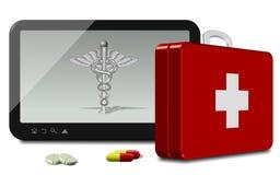 Online health insurance Stock Photos