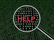 Online help Stock Images