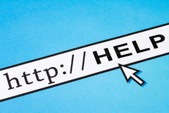 Online help Royalty Free Stock Image